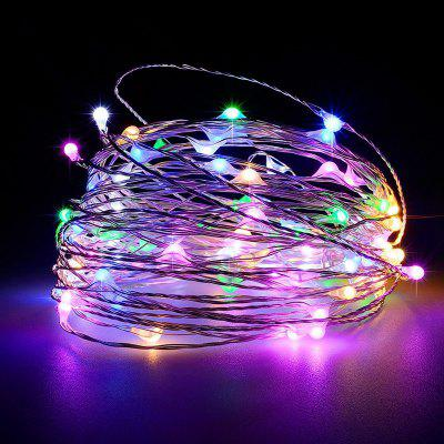 Battery Operated Garland Indoor Outdoor Home Christmas Decoration Strip Light