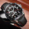 New Design Luxury Creative Fashion Large Dial Stainless Steel Military Watch - MULTI-A