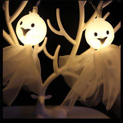 Halloween Lichter 10 LED Ghost String Licht Lampen für Indoor Weihnachtsdekoration