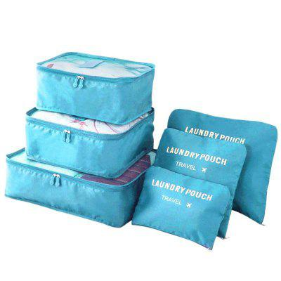 6 Pcs Travel Storage Bags Multi-Functional Clothing Sorting Packages