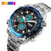SKMEI 1302 Leisure Multifunctional Sports Electronic Watch - BLUE
