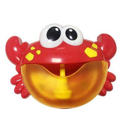Crab Bubble Machine Music Maker Baby Bath Shower Fun Toy