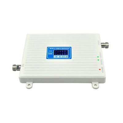 2G 3G Mobile Signal Repeater GSM 900MHz WCDMA 2100MHz Booster with Panel Antenna