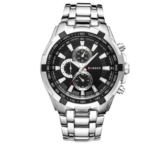 CURREN Top Brand Analog Military Sports Army Waterproof Male Watches