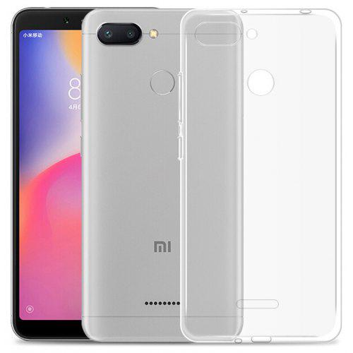 separation shoes 6a045 76dc4 Mr.northjoe Ultra-Thin Tpu Back Cover Case for Xiaomi Redmi 6 - Transparent