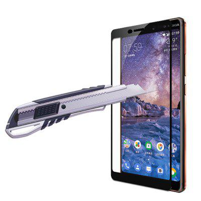 Full Cover Tempered Glass Screen Protector for Nokia 7 Plus