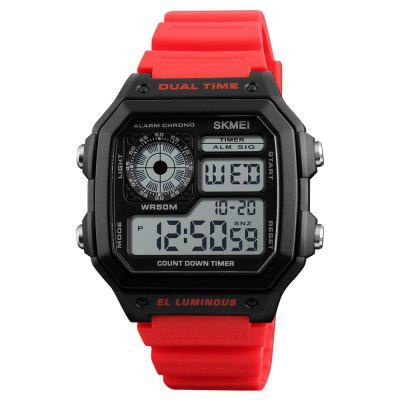 SKMEI Sports Men Top Brand Luxury Famous Water Resistant LED Digital Watches