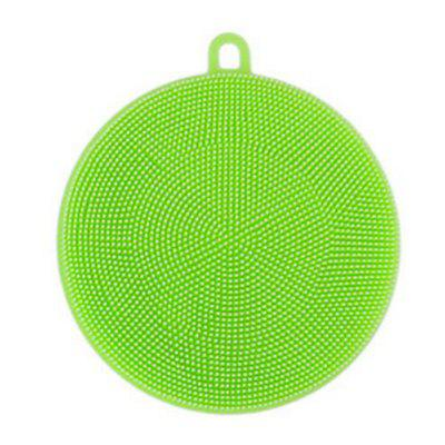 Multipurpose Antibacterial Silicone Sponge Cleaning Dish Washing Kitchen