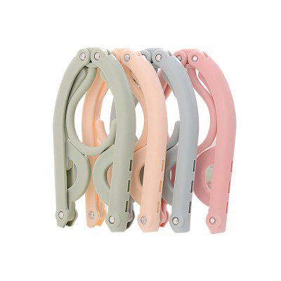 4 PCS Portable Folding Clothes Hangers Drying Rack for Travel
