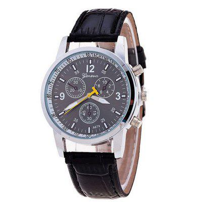 Fashion Mens Casual Sport Chargers Quartz Wrist Watch