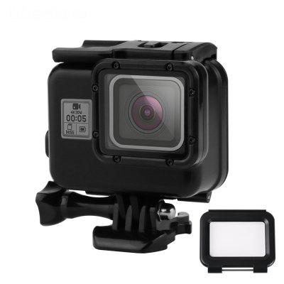 With Touch Screen Back Cover Water-Resistant Housing for Gopro Hero 6 5