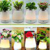 Touch Sensor Table Light Multi Functional Vase Creative Bedside Lamp Home Decor - TRANSPARENT