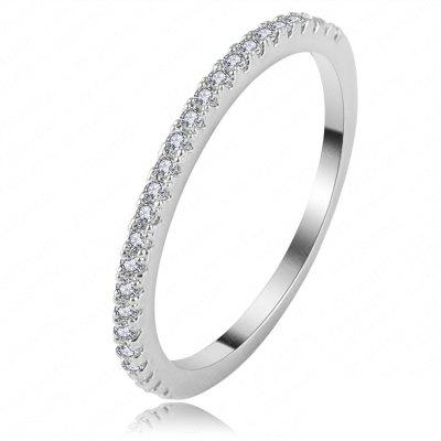 Fashionable Delicate Zircon Ring Girl