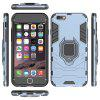 All-inclusive with Bracket Anti-fall Hard Shell for iPhone 6 Plus / 6s Plus - MARBLE BLUE