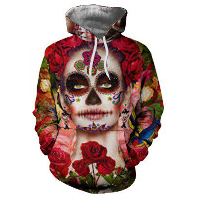 New Fashion Skull 3D Printed Sweater