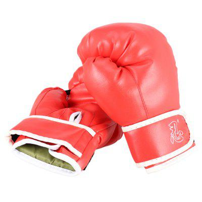 Professional Boxing Gloves Muay Thai Training Leather Sparring Punching