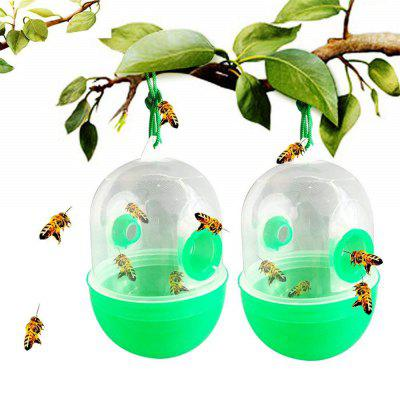 Wasp Trap Outdoor Bee Honey Insect Catcher 2PCS