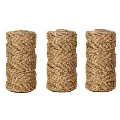 328 Feet Natural Jute Twine Best Arts Crafts Gift Durable DIY Hemp Rope