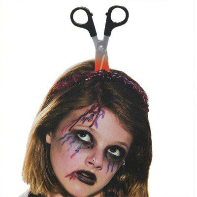 Halloween Funny Scary Hair Hoop Headband Decoration Terror Props