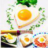 Stainless Steel BBQ Fried Egg Shaper Pancake Mould Mold Kitchen Cooking Tools - SILVER