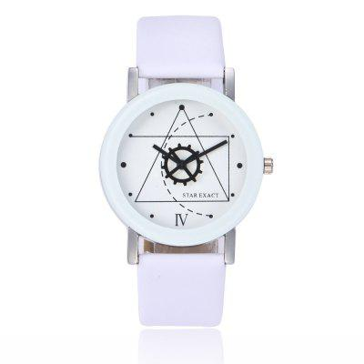 Seasonal 3151955 Featured Geometric Gear Pointer Fashion Personality Watch