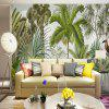 Tropical Rainforest Birds and Trees Wallpaper Wall Stickers Murals - MULTI