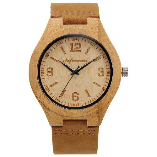 SHIFENMEI 2140 Simple Wooden Watch