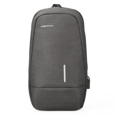 Kingsons Male Crossbody Backpack Travel Bag