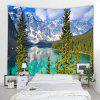 Lake Moraine 3D Printing Home Wall Hanging Tapestry for Decoration - MULTI