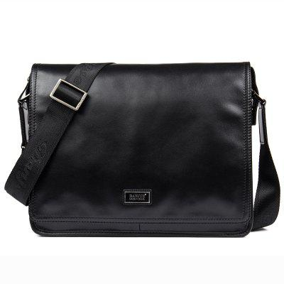 DANJUE Fashion Men Briefcase Genuine Leather Business Messenger Shoulder Bag