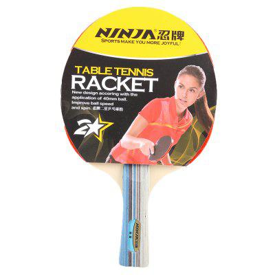 Table Tennis Set Ping Pong Paddle Table Tennis Racket with 2 balls