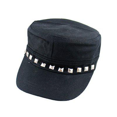 Fashion Personality Hat with Rivet Decoration