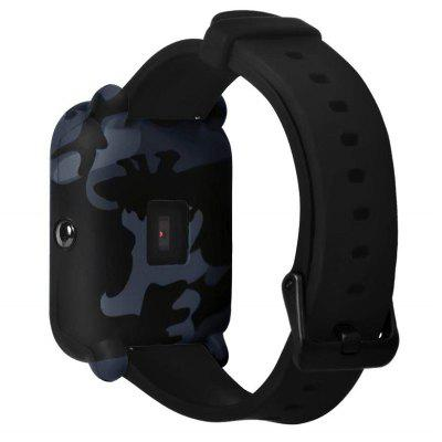 Camouflage Soft Silicone Cover voor AMAZFIT Bip Youth Watch
