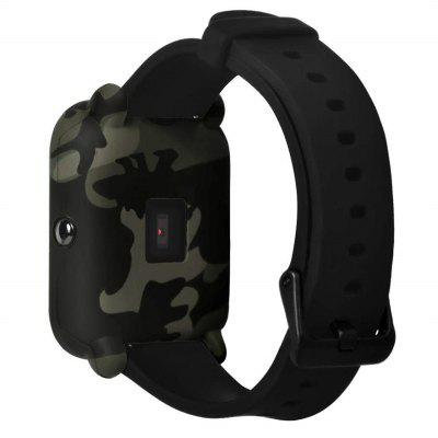 Camouflage Soft Silicone Full Cover Case for Amazfit Bip Youth Watch