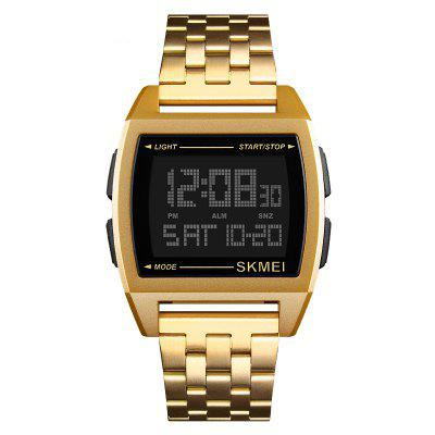 SKMEI Men Digital Wrist Double Time Countdown Clock Sport Watches