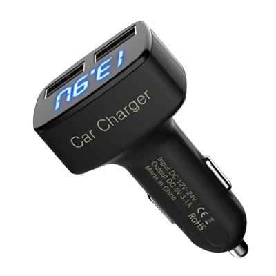 3.1A Car Charger Adapter Dual USB Port Charger