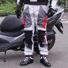 Pantalones de carretera RidingTribe Motorcycle Racing - BLANCO