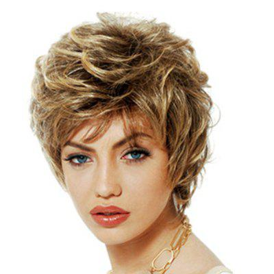 Fashionable Fluffy Small Curl Short Wig