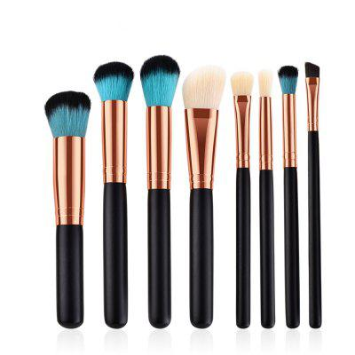8PCS Eyeshadow Powder Concealer Brush Makeup Brush Strumento cosmetico