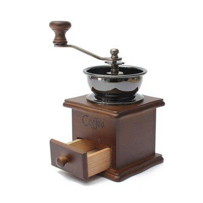 Classical Wooden Manual Coffee Grinder