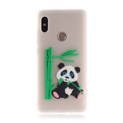 Panda Ultra Slim Coque antichoc flexible pour Redmi Note 5