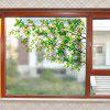 Fresh Branches PVC Window Film Wall Sticker Matte - MULTICOLOR