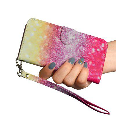3D Color Painting for iPhone 5 / 5S / SE Case Flip Wallet Cover