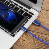 1.2m USB Type-C 5A Super Fast Charge Cable for Huawei Mate 9 / P20 / P20 pro - BLUE
