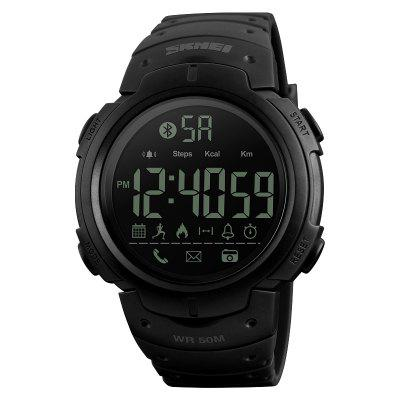 SKMEI Men's Sport Smart Watch Camera Calorie Reminder Digital Wristwatch