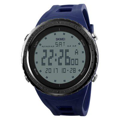 SKMEI Men Fashion LED Digital 50M impermeabile vestito sportivo orologio da polso