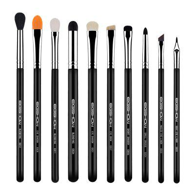 10 PCS EYE BRUSH KIT Eye Makeup Brushes EIGSHOW