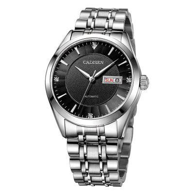 CADISEN C8106M Stainless Steel Imported Mechanical Movement Waterproof Man Watch