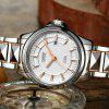 CADISEN C8090L Hollow Mechanical Stainless Steel Waterproof Lady's Wrist Watch - WHITE