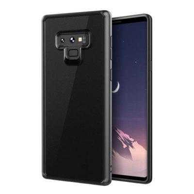 Crystal Clear Phone Protection Soft TPU Hard PC Hybrid Case for Samsung Note 9